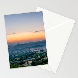 Sunrise in Macedonia Stationery Cards