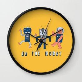 Do the robot dance! Wall Clock
