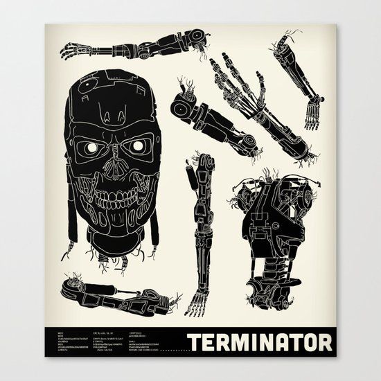 Decommissioned: Terminator  Canvas Print