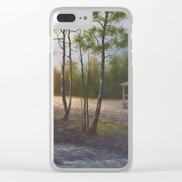 Pioneer Living Clear iPhone Case
