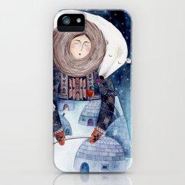 eskimo iPhone Case