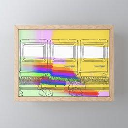 Crunchy Apple Framed Mini Art Print