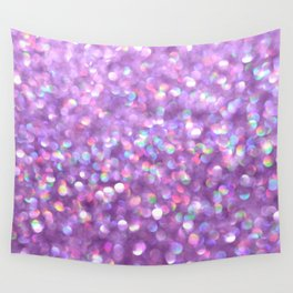 La La Lavender Wall Tapestry