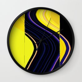 A space-clad life_A Wall Clock
