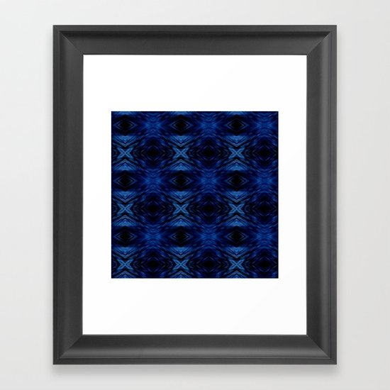 Blue For You Framed Art Print