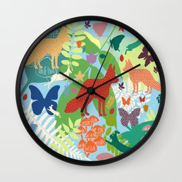 National Park Arrábida Wall Clock