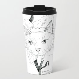 Catffodil Metal Travel Mug