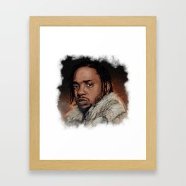 Damn Framed Art Print
