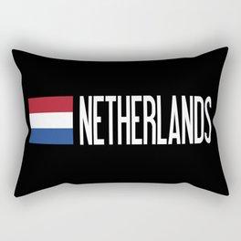 Netherlands: Dutch Flag & Netherlands Rectangular Pillow