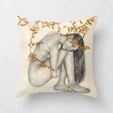 The Fragility Of Being Human Throw Pillow