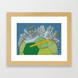 Brazilization Framed Art Print