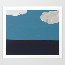 Oh, Weather Art Print