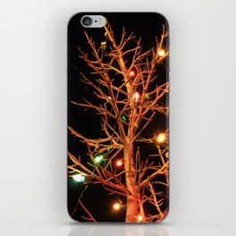Holiday Lights iPhone Skin
