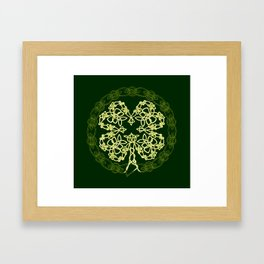Celtic Carolans Framed Art Print
