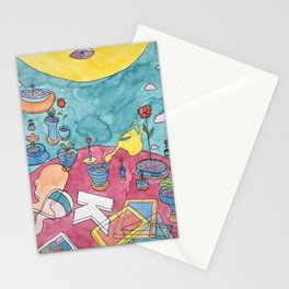 You have to water the plants Stationery Cards