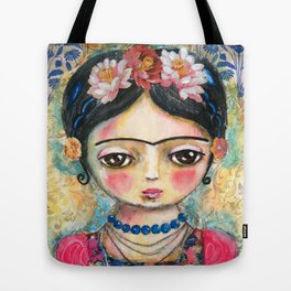 The heart of Frida Kahlo  Tote Bag