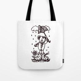 Umbrella Bear! Tote Bag
