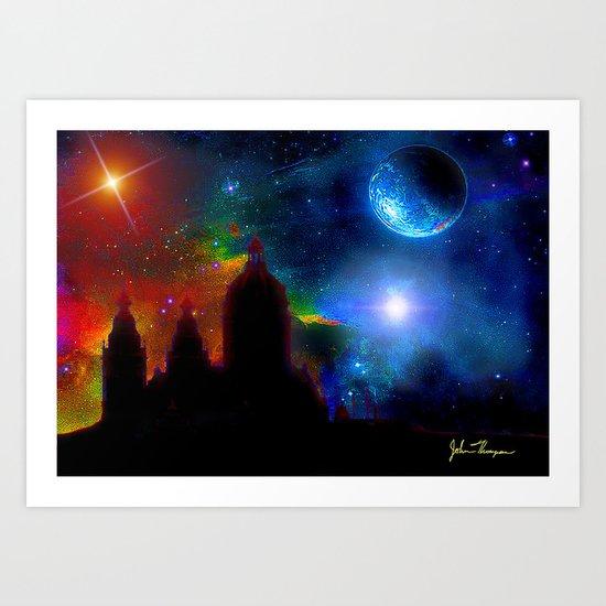 Another world 3 Art Print