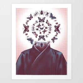 Zentomologist Art Print