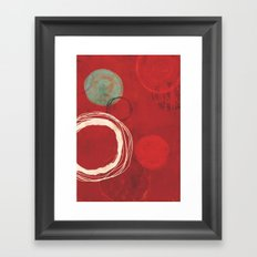 At The Centre Of It All Framed Art Print