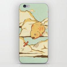 Sky Diving iPhone & iPod Skin