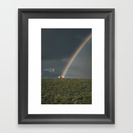Rainbow II  - Landscape and Nature Photography Framed Art Print