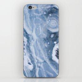 Earth blue iPhone Skin