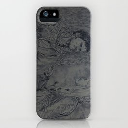 The captain and the swan iPhone Case