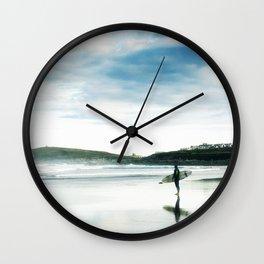 Fistral Surfer Wall Clock