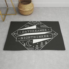 daydreamer nighthinker Rug