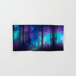 Out of the dark mystic light Hand & Bath Towel