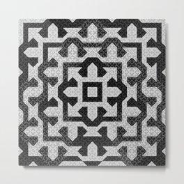 FRAMEofMIND pattern 01 Metal Print