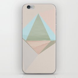 pentagonal dipyramid iPhone Skin