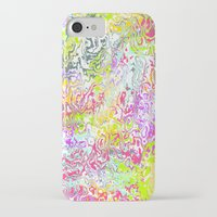 confetti iPhone & iPod Cases featuring Confetti by Abstract Designs