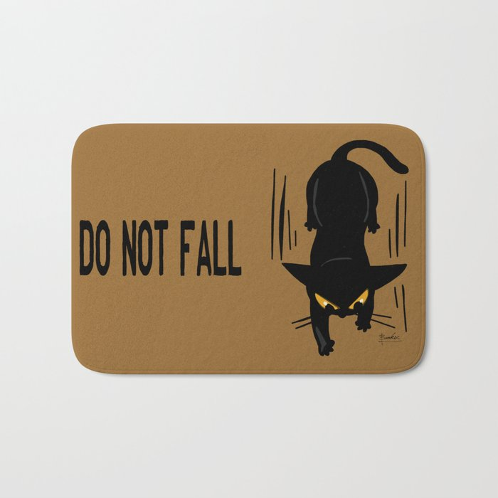 Do not fall Bath Mat