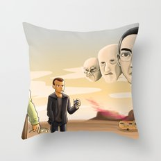 Breaking Bad: Walter's Adversaries  Throw Pillow
