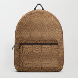 D20 Henna Icosahedron Backpack
