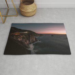 Big Sur Sunset Rug