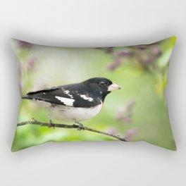 Spring Songbird Rectangular Pillow
