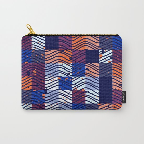 Square Wave Carry-All Pouch