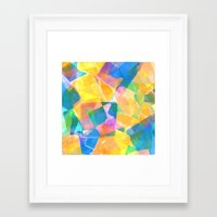 desert Framed Art Prints featuring Desert by Amy Sia