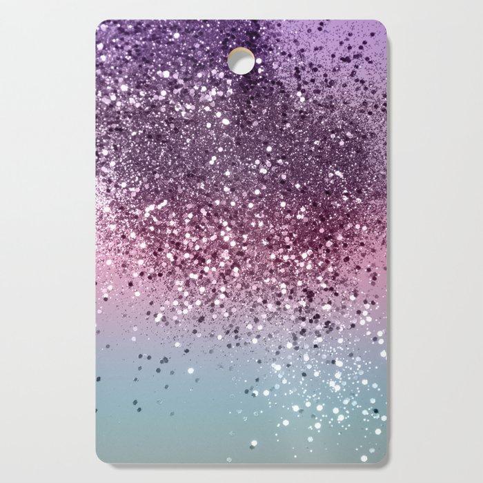 Unicorn Girls Glitter #6 #shiny #pastel #decor #art #society6 Cutting Board
