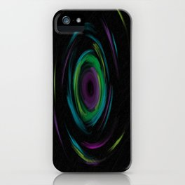 Spiral of existence iPhone Case