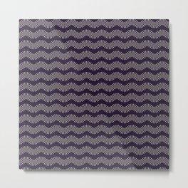 Colored Fifties Pattern 04 Metal Print