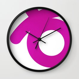 smile one Wall Clock