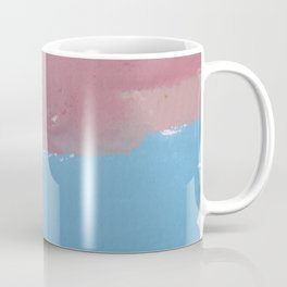 21 | 1903011 Watercolour Abstract Painting | Muted Colours Coffee Mug