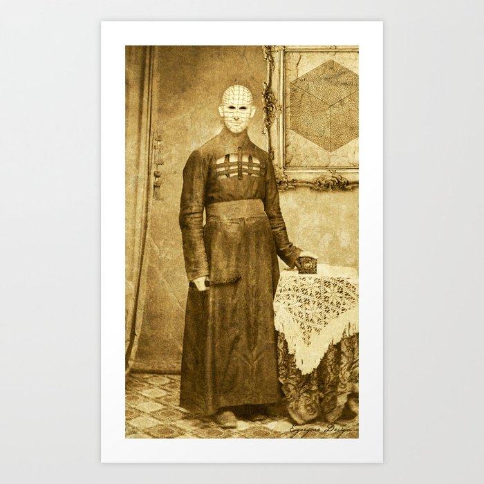 Dark Victorian Portrait Series: The Hierophant Art Print