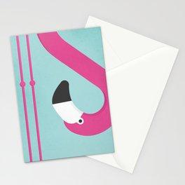 Flamingo No.2 Stationery Cards