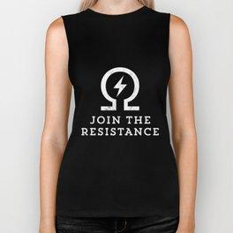 Join the resistance vape ohm t-shirt Biker Tank