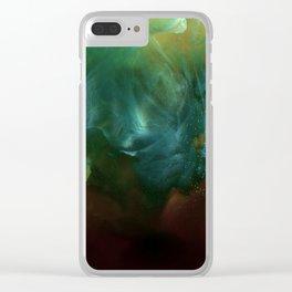 Wolf Head Nebula Clear iPhone Case